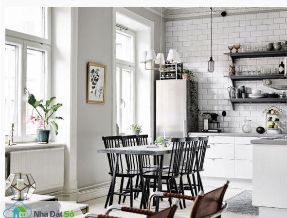 Căn hộ trắng đẹp đến từng milimet với phong cách Scandinavia - Ảnh 2.