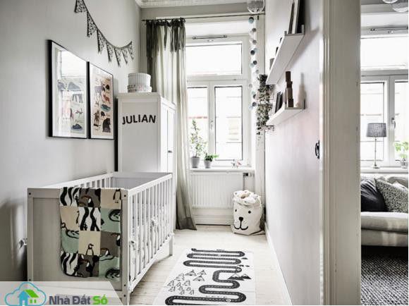 Căn hộ trắng đẹp đến từng milimet với phong cách Scandinavia - Ảnh 9.