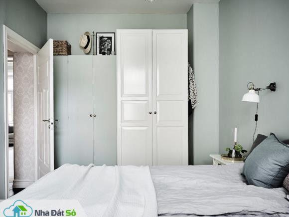 Căn hộ trắng đẹp đến từng milimet với phong cách Scandinavia - Ảnh 12.