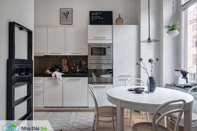 Thiết kế căn hộ 46m2 rộng thoáng không ngờ, đốn tim vạn người - Ảnh 11.