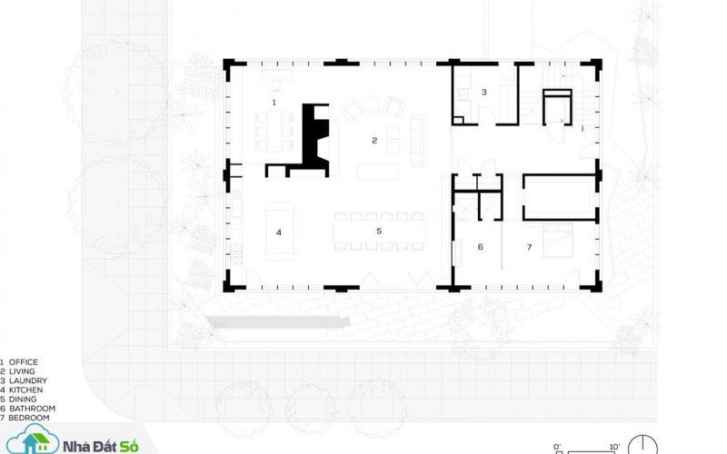 Bản thiết kế toàn bộ ngôi nhà