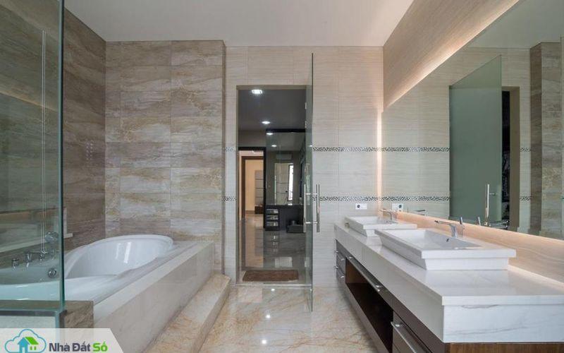 Kiến trúc phòng tắm