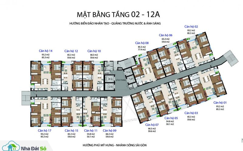 mat bang can ho river city quan 7