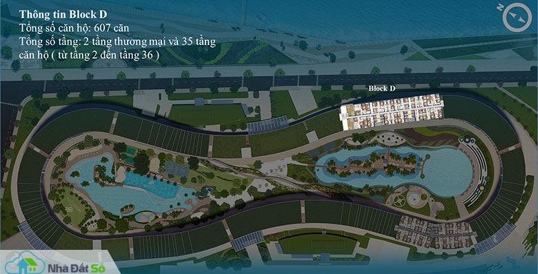 Mặt bằng thiết kế căn hộ River City Block D Quận 7- Chủ đầu tư căn hộ An Gia