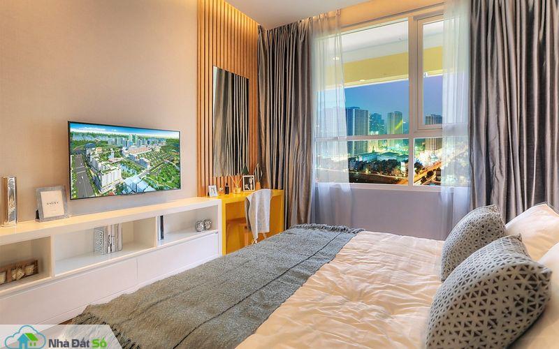 ec41273ad2976c9e957d2a67caff8d28 Tham quan phòng ngủ căn hộ Sarimi: Thiết kế hiện đại với chủ đề Sum vầy gia đình
